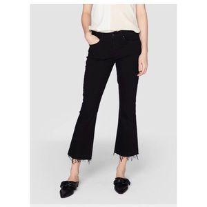 Derek Lam Denim10Crosby Gia MidCropped Flare Jeans